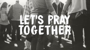 Let's Pray Together @ Word of Grace Church