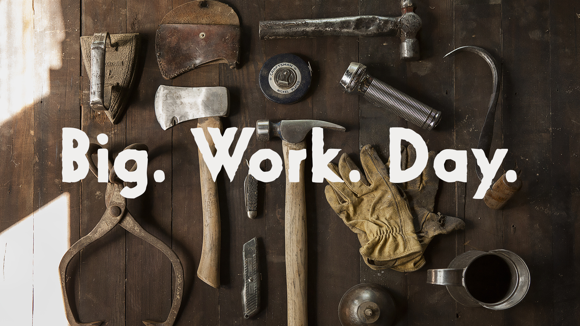 Big Work Day @ Word of Grace Church | Chesterland | Ohio | United States