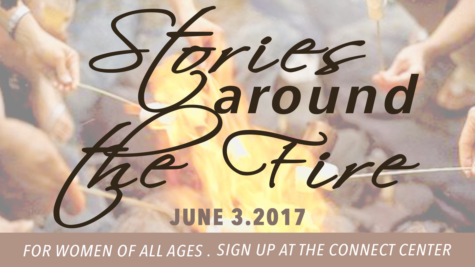 Stories Around The Fire @ Word of Grace Church | Chesterland | Ohio | United States