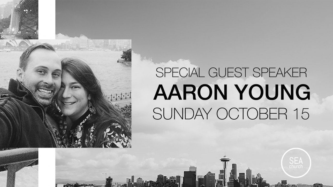 Aaron Young returns to Cleveland to share the Word with us on October 15th.