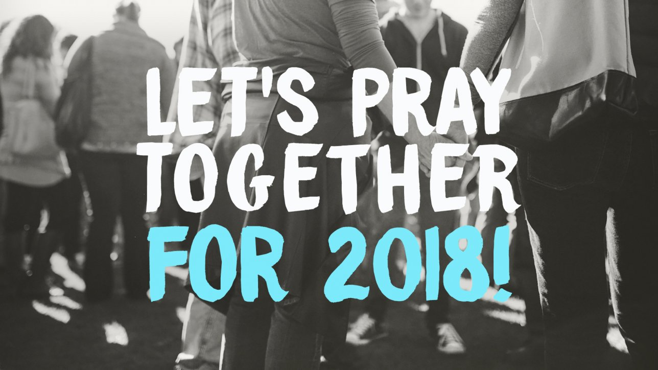 Let's Pray Together – For 2018