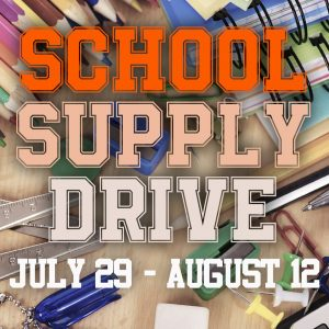 School Supply Drive Distribution @ Chagrin Falls Park Community Center | Chagrin Falls | Ohio | United States